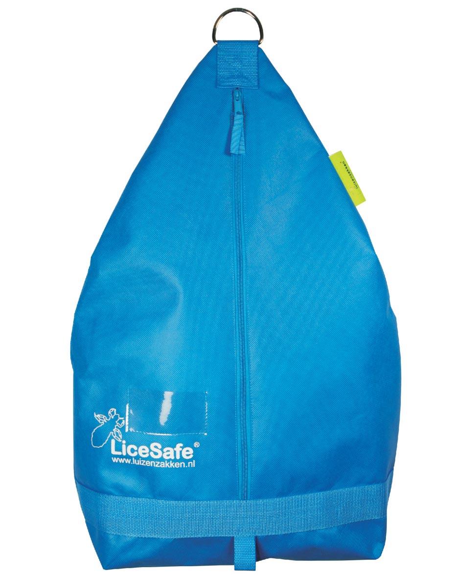 LiceSafe -pussi - Cool kirkkaansininen